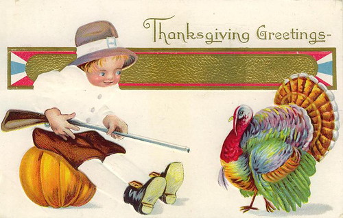 Thanksgiving Postcards (by senses working overtime)