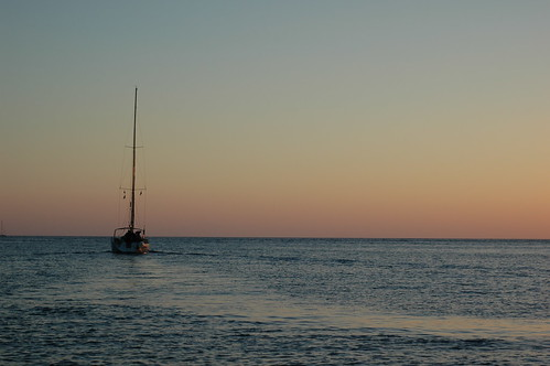sunset bay sailingyacht
