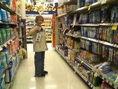 cameraphone sunglasses mobile shopping fun store waiting phone bored son boredom lg walgreens patience jsmoorman