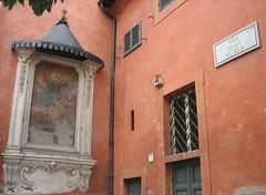 n'angoletto de Roma mia (Donna di Fiori ) Tags: italy rome roma italia trastevere kartpostal viadellascala