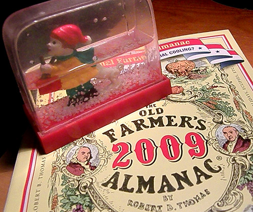 My first Farmer's Almanac