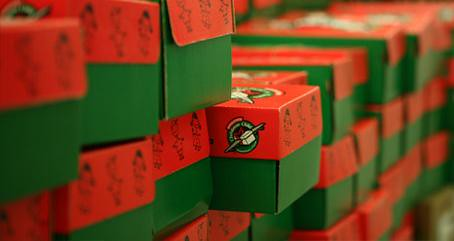 Operation Christmas Child - Access Winnipeg
