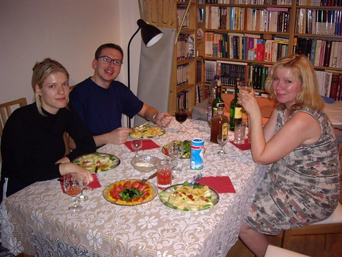 Eliška, Lubos and her mother