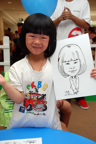 caricature live sketching for West Coast Plaza day 2 - 30