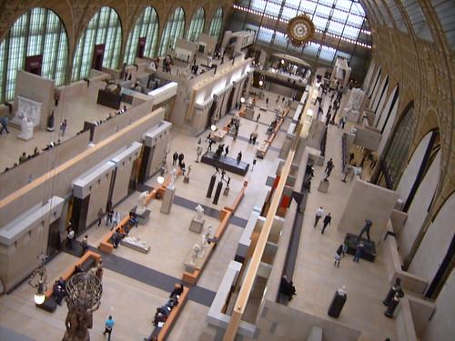 Panorámica del Museo de Orsay,foto de una pirata