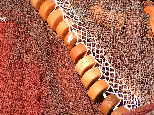 Orange ropes