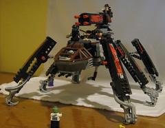 Zombie Defense Platform1   V.1 (SoundWavePanda) Tags: lego fig zombie apocalypse mini minifig