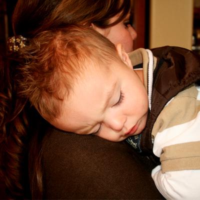 jaxson asleep