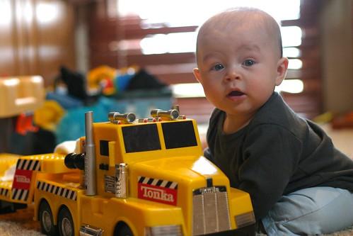 Jack & Toy Truck