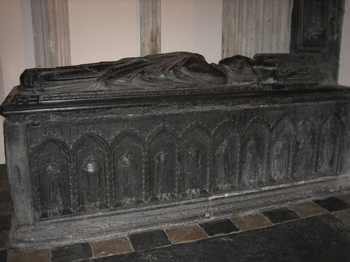 Tomb of Guy van Avesnes (c.1253-1317), bishop of Utrecht. Domkerk church, Utrecht.