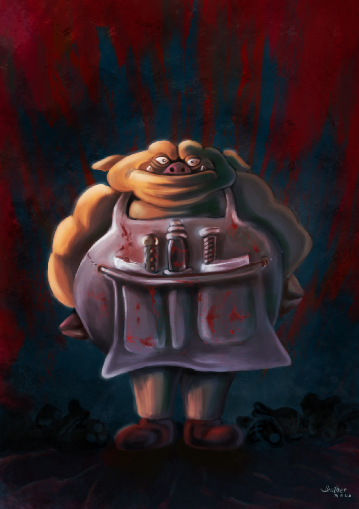 SUPER Stylised Challenge - November 2008 - Butcher - VOTING!