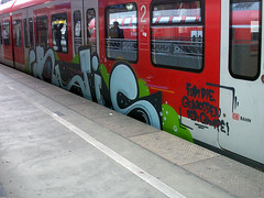 Graffiti in Kln/Cologne 2008 (kami68k [Cologne]) Tags: train graffiti cologne kln illegal gratis deutschebahn 2008 bombing bunt