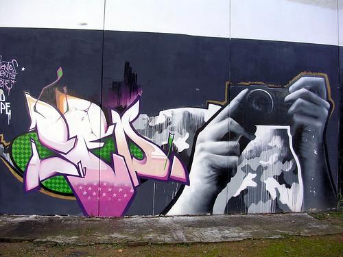 ¿A quién haces esa foto? Grafiti 15