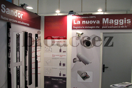 Stand Bioaccez at Sicurezza (Italy)