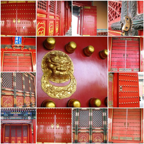 Red Doors of the Forbidden Palace