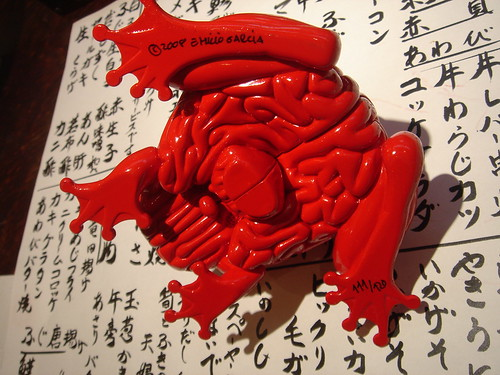RED Jumping Brain pictures by Tomenosuke