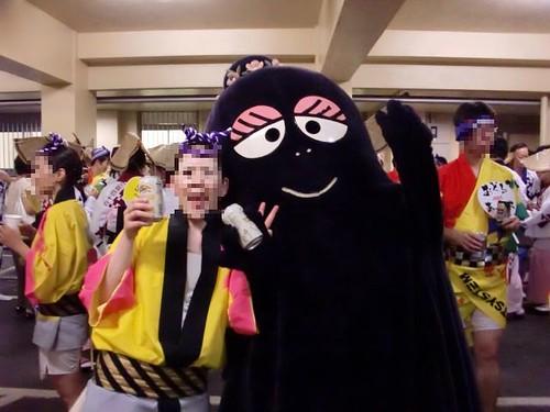バーバママと妻 with ビール