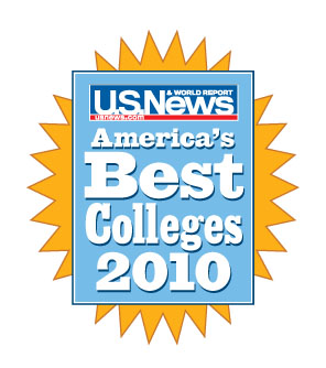 U.S. News & World Report Best Colleges 2010 magazine cover