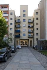 john hejduk @ friedrichstrasse 234 (d.teil) Tags: house berlin architecture john 1987 architektur housing architects iba friedrichstrasse 234 hejduk dteil johnheyduk berlinhasu