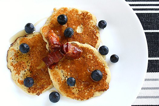 Oatmeal Pancakes - Pancakes Avoine 9607-11