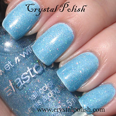 Wet N Wild Blue Wants to Be a Millionaire (CrystalPolish) Tags: blue drugstore shimmer wetnwild holo bluewantstobeamillionaire