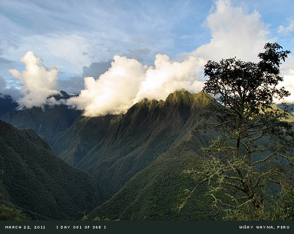 Wiñay Wayna, Peru