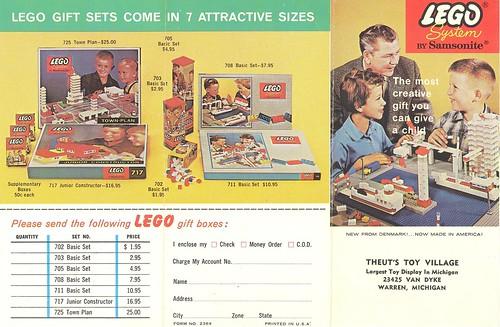 Lego Samsonite Leaflet 2369 (recto)