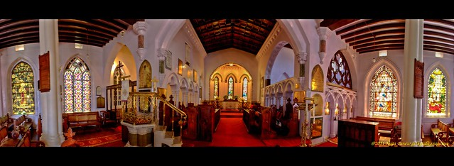 St Stephens Church Ooty Panorama (HDR)