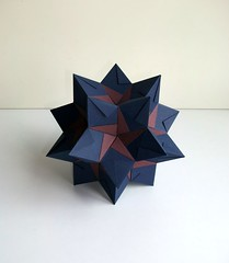 Rhombic Hexecontahedron (mancinerie) Tags: origami paperfolding modularorigami jeanninemosely
