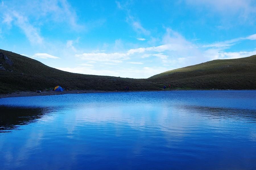 再一次的感動  嘉明湖