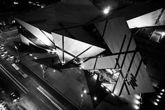 Ugly from Above (Neil Ta | I am Bidong) Tags: longexposure blackandwhite bw rooftop crystal urbanexploration rom royalontariomuseum urbex bloorstreet rooftopping neilta iambidong sonynex3
