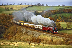 46229 Armathwaite (geoffspages) Tags: railway steam uksteam