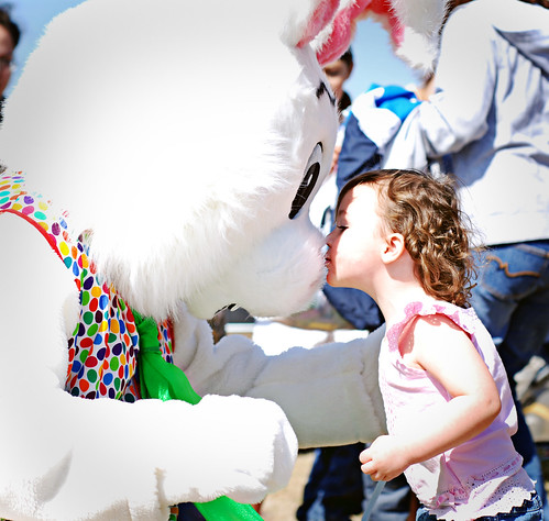 kisses for the easter bunny