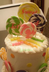 Jai's Lollipop Cake (Oh, Sugar! (Destini Hinkle)) Tags: cake baking candy journal lollipop week12 destini ohsugar bakingjournal cakesbydestini