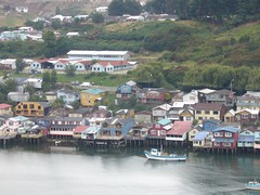 Chiloe - Castro - ville