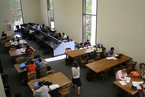5th floor study area and computers
