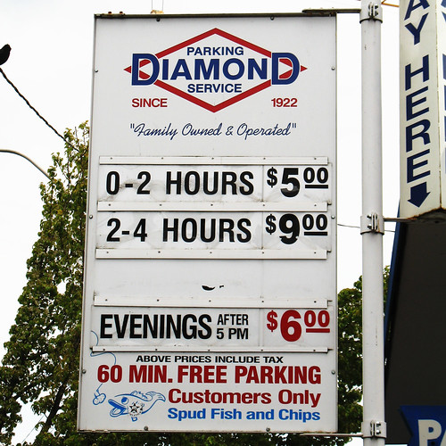 Diamond parking by smohundro