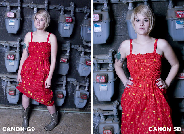 SIDE BY SIDE COMPARISON OF G9 AND 5D copy by mattlandia