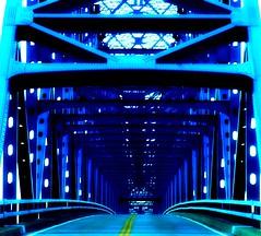 Shawneetown Bridge Toward Kentucky (mightyquinninwky) Tags: road bridge blue metal illinois kentucky ohioriver blacktop yellowline southernillinois westernkentucky ohiorivervalley ohioriverbridge oldshawneetown littleegypt highway56 ohiorivercity leavingillinois shawneetownbridge shawneetownillinois top20bridges goingtowardky