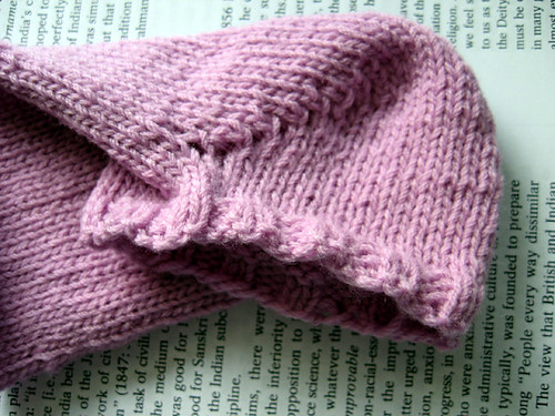 little pink sock