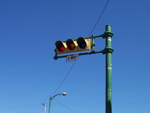 Horizontal Traffic Lights