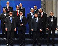 Zapatero en la última cumbre de la OTAN