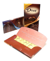 New Dove Bars - with three little bars inside