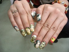 The nails Yumi Kikuchi