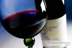 Red Wine (www.jirelandphoto.com) Tags: red green art glass canon bottle wine label redwine highlight strobe lseries hightlights llens