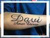 tatuagem nome no antebraco TARZIA TATTOO -