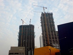 Jakarta Indonesia Asia's top real estate market in 2013 in Emerging Trends in Real Estate - Asia Pacific 2013 forecast - Building skyscrapers
