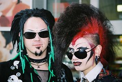 Punk Couple (fluffy_steve) Tags: dark couple punk industrial goth wave treffen gotik the subculture vamps dandies wgt2007leipziggermany