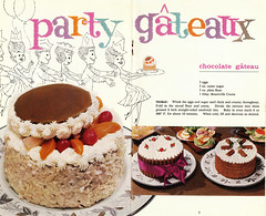 Party Gateaux (Pikaluk) Tags: 1969 1970 recipes oldrecipes britishcookery