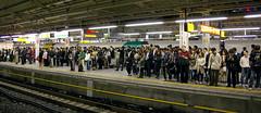 Multitud / Crowd (SBA73) Tags: people station japan train tren japanese tokyo shinjuku gente crowd jr personas nippon  multitud gent nihon kanto rodalies japoneses jap yamanote estaci tokio cercanias japn persones japonesos flickrchallengegroup flickrchallengewinner
